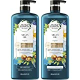 Herbal Essences, Repairing Argan Oil Of Morocco Shampoo and Conditioner set With Natural Source Ingredients, Color Safe, BioR