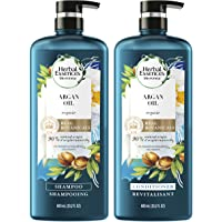 Herbal Essences Shampoo And Sulfate Free Conditioner Kit, Safe for Color Treated Hair, BioRenew Repairing Argan Oil Of…