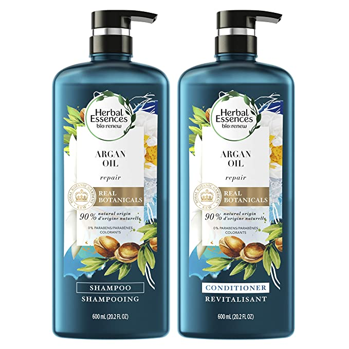 Herbal Essences, Repairing Argan Oil Of Morocco Shampoo and Conditioner