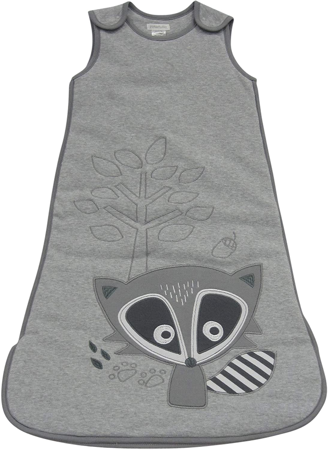 Pitter Patter 6-12 Months Sleeping Bag with Raccoon Embroidery 42061