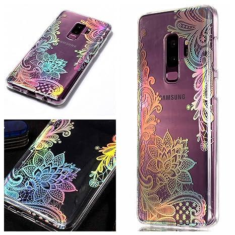 8cb8dedd31b1 Artfeel Coque pour Samsung Galaxy S9 Plus Bling Briller