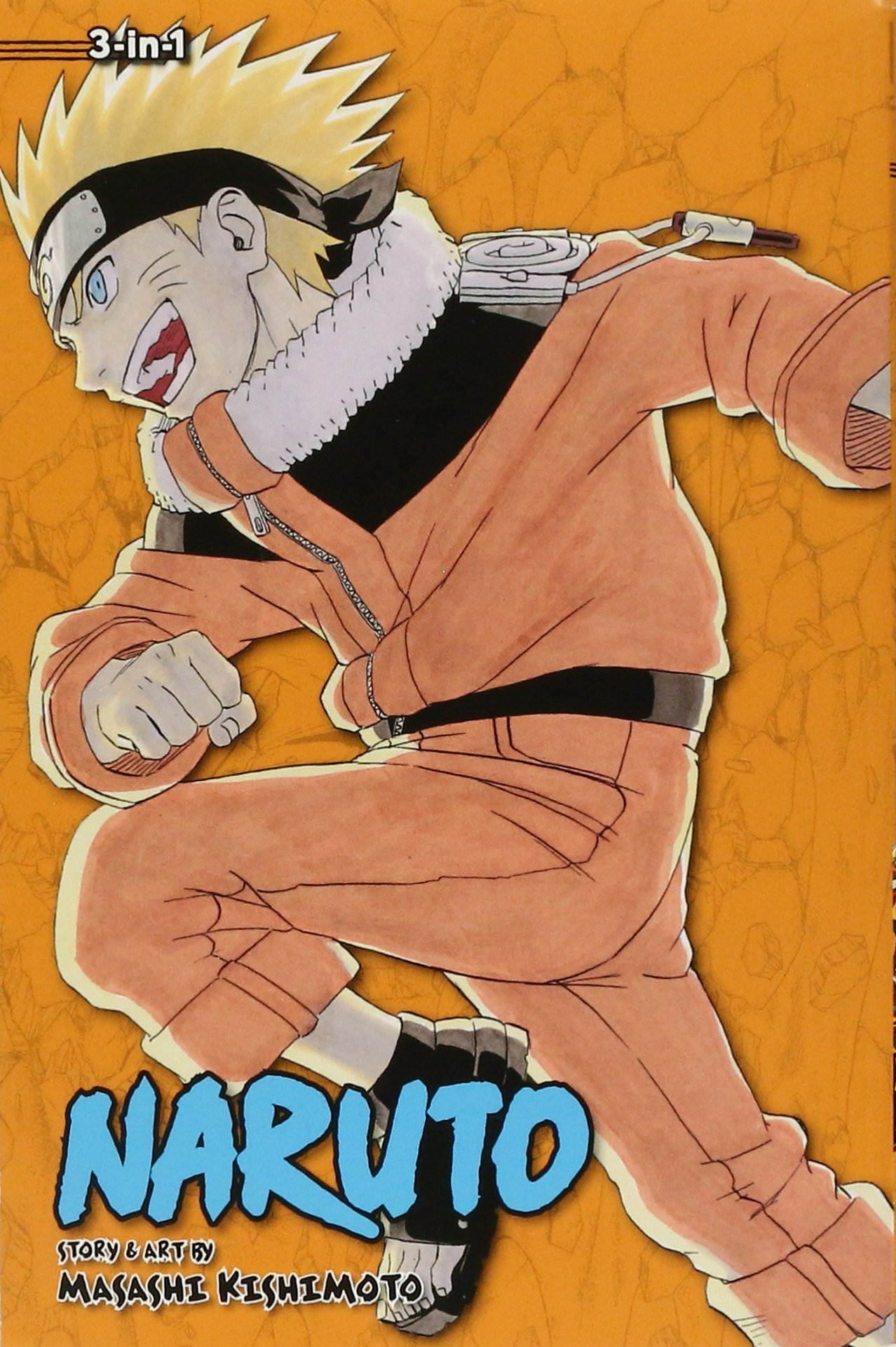 Naruto (3-in-1 Edition), Vol. 6: Includes vols. 16, 17 & 18: Masashi  Kishimoto: 9781421554907: Amazon.com: Books