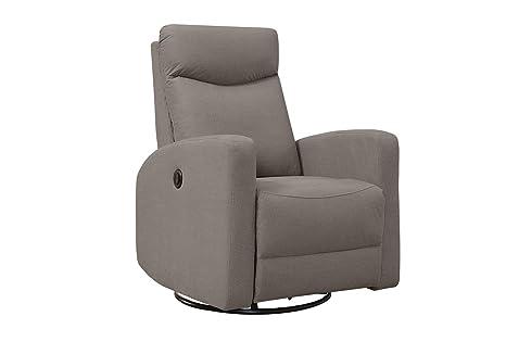 Swell Amazon Com Monarch Specialties Power Swivel Glider Recliner Alphanode Cool Chair Designs And Ideas Alphanodeonline