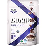 Living Intentions Activated Superfood Cereal, Gluten Free, Vegan, Organic, Blueberry Blast, 9 Ounce