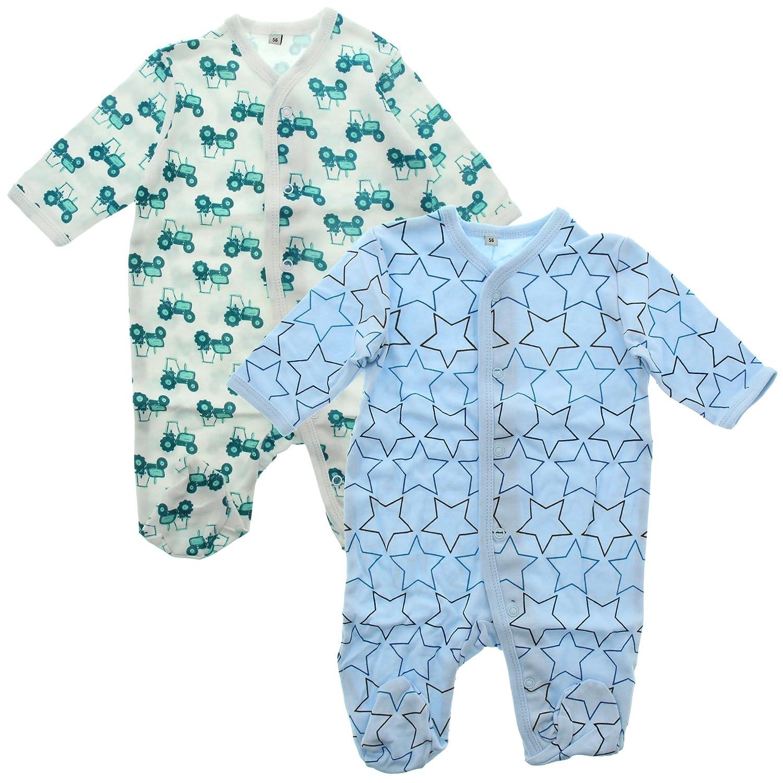 Pippi Baby - Jungen Zweiteiliger Schlafanzug Nightsuit W/F -Buttons (2-pack) 3821