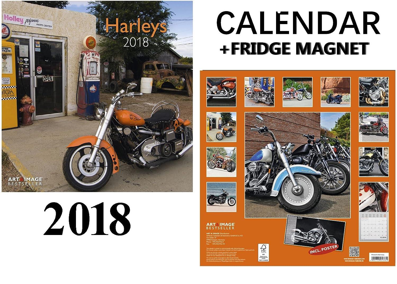 outlet Harleys Davidson calendario 2018 + potencia máxima de coche ...