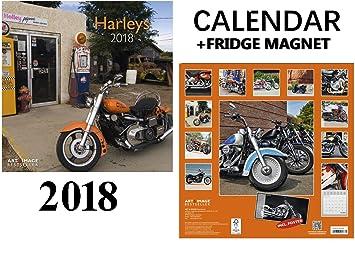 Harleys Davidson calendario 2018 + potencia máxima de coche ...