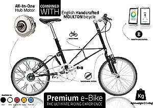 Bicicleta eléctrica Premium, Exclusiva para bicicleta para uso ...