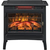 Duraflame 5,200-BTU Infrared Quartz Stove with 3D Flame Effect (Black)