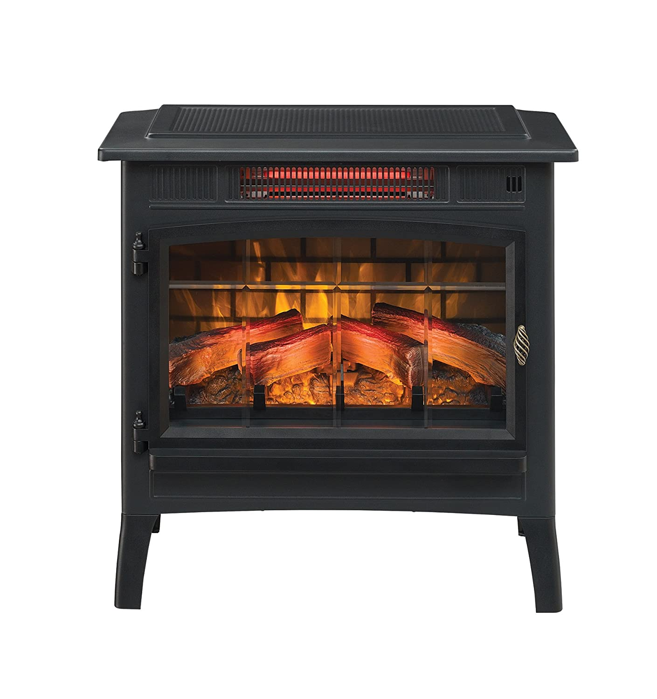 amazon com duraflame dfi 5010 01 infrared quartz fireplace stove