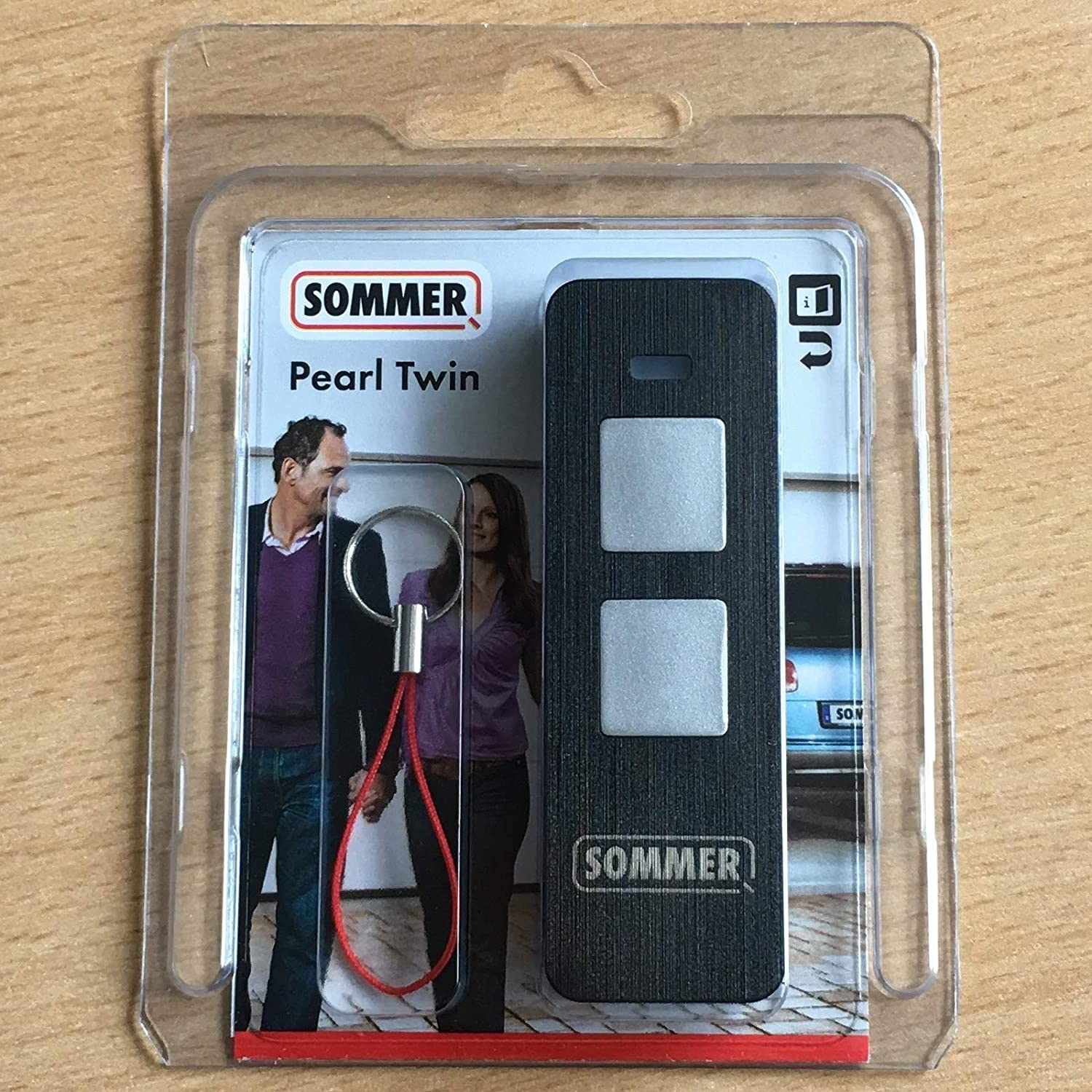 Sommer 2-Command Transmitter Pearl Twin S10019-00001