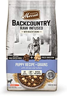 product image for Merrick Backcountry Raw Infused Puppy Dry Dog Food