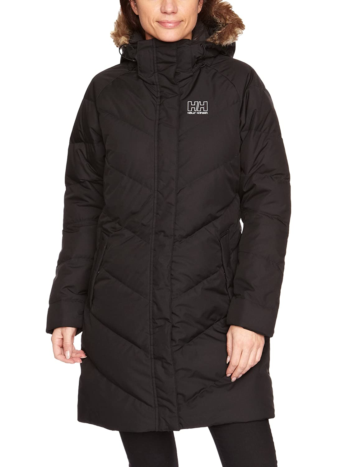 helly hansen women 39 s aden puffy parka jacket ebay. Black Bedroom Furniture Sets. Home Design Ideas