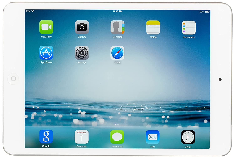 Apple Ipad Mini 2 With Retina Display Mf075ll A 16gb 1 Wifi Cellular White Memory Wi Fi 4g Lte Verizon Silverold Version Tablet Computers