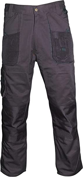 Black 30 Inch Blackrock Mens Workman Long Trouser