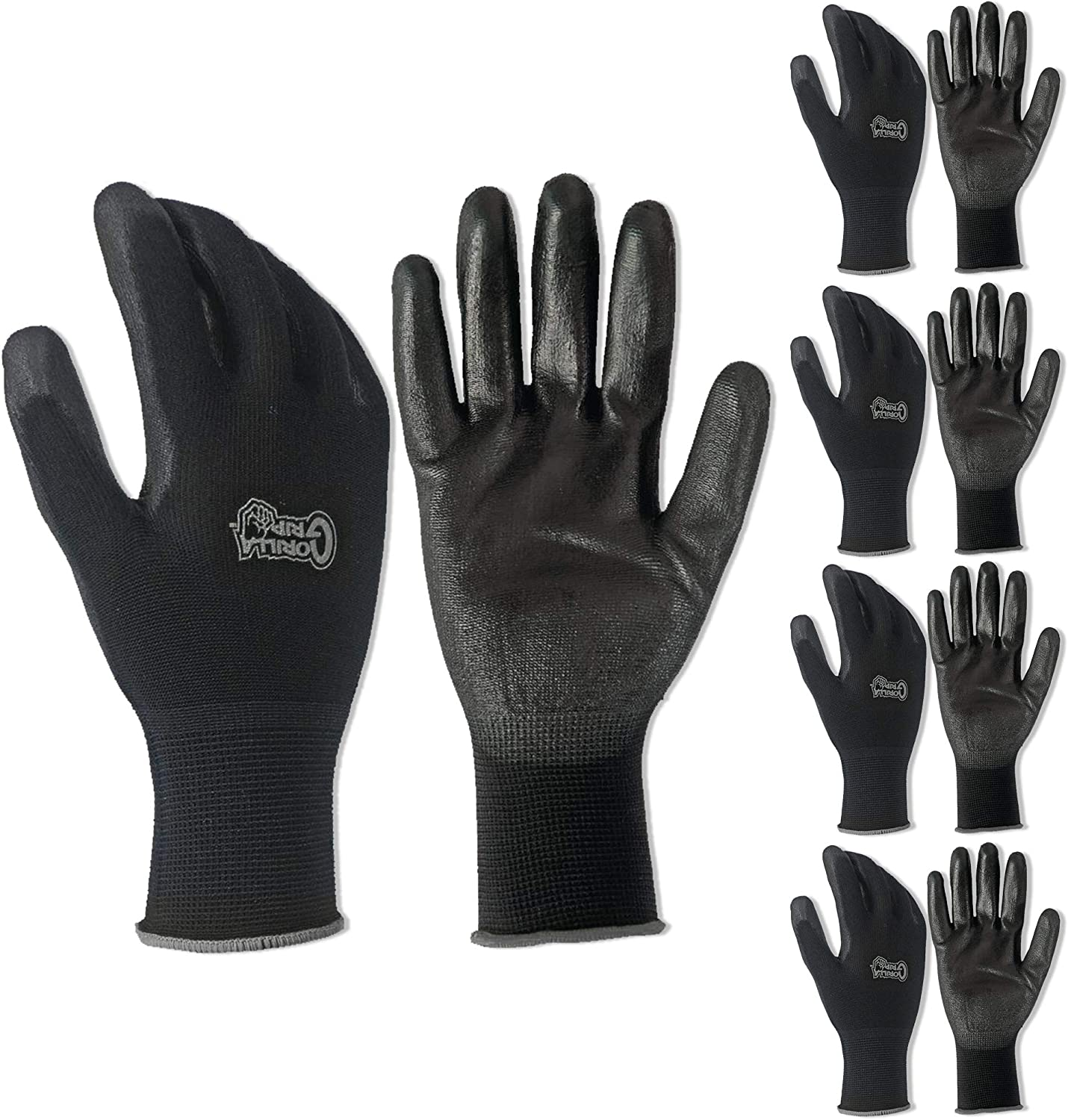 5 PACK Gorilla Grip Gloves - Extra Large XL