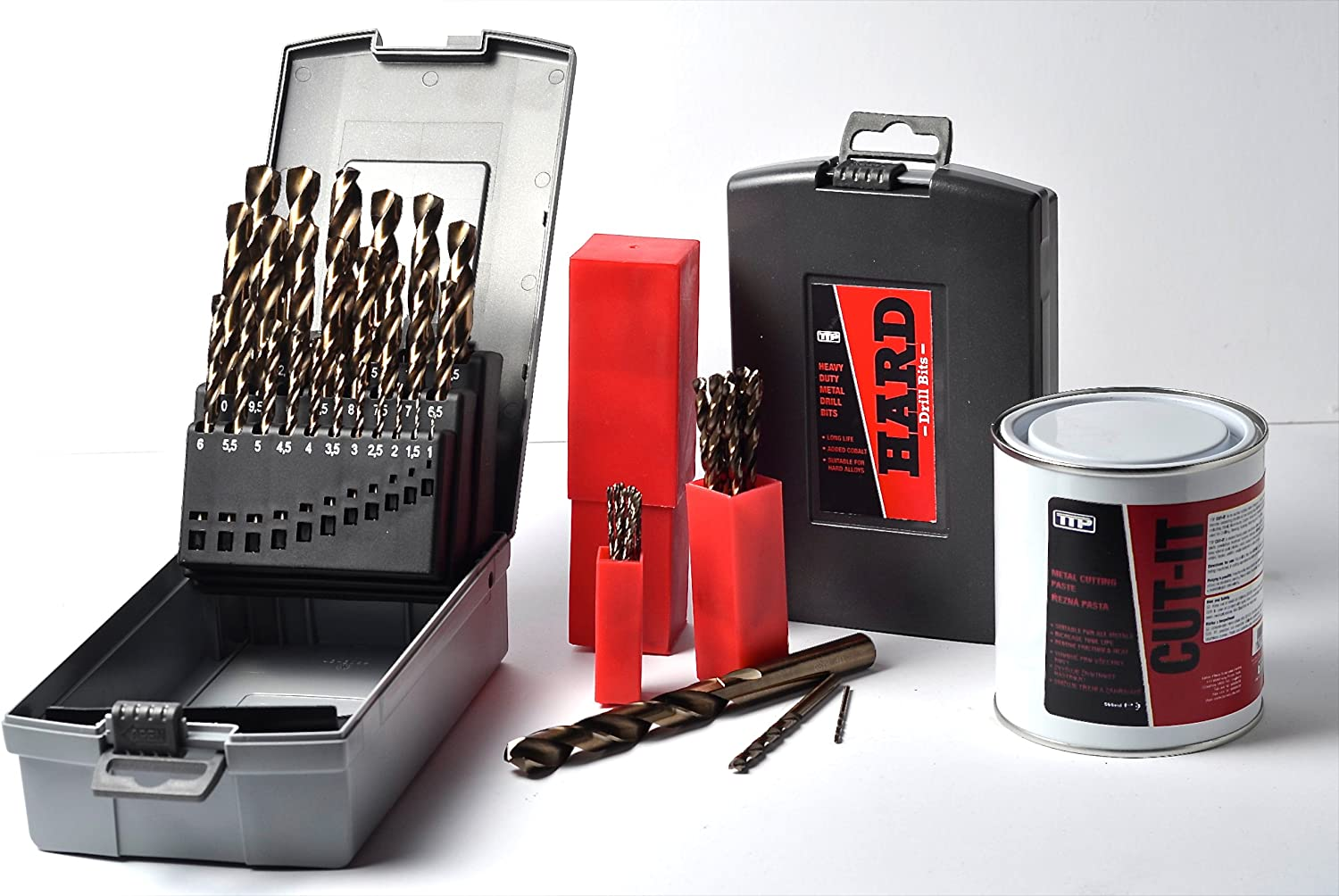"""Added Cobalt for Drilling Harder Metals 