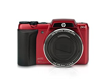 appareil photo p-650 – rouge