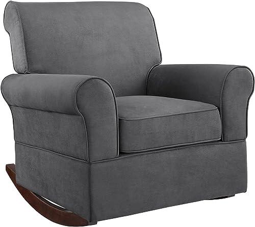 Reviewed: Baby Relax The Mackenzie Microfiber Plush Nursery Rocker Chair