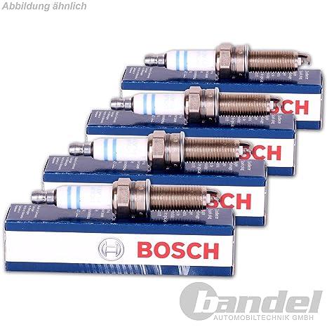 4x Bujía de encendido BOSCH Super plus FR7DCX+