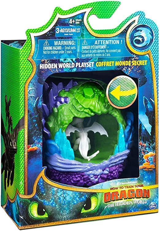 How To Train Your Dragon Hidden World NEW Playset with Lightfury Figure