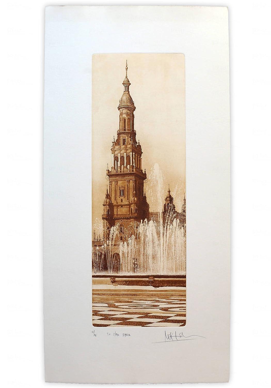 Torre Norte Plaza de España - Sevilla: Amazon.es: Handmade