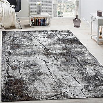 Amazon.de: Paco Home Edler Designer Teppich Wohnzimmer Abstrakt 3D ...