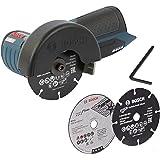 Bosch Smerigliatrice angolare a batteria GWS 10,8-76 V-EC, batteria non compresa, senza alimentatore, senza L-BOXX ma con inserto
