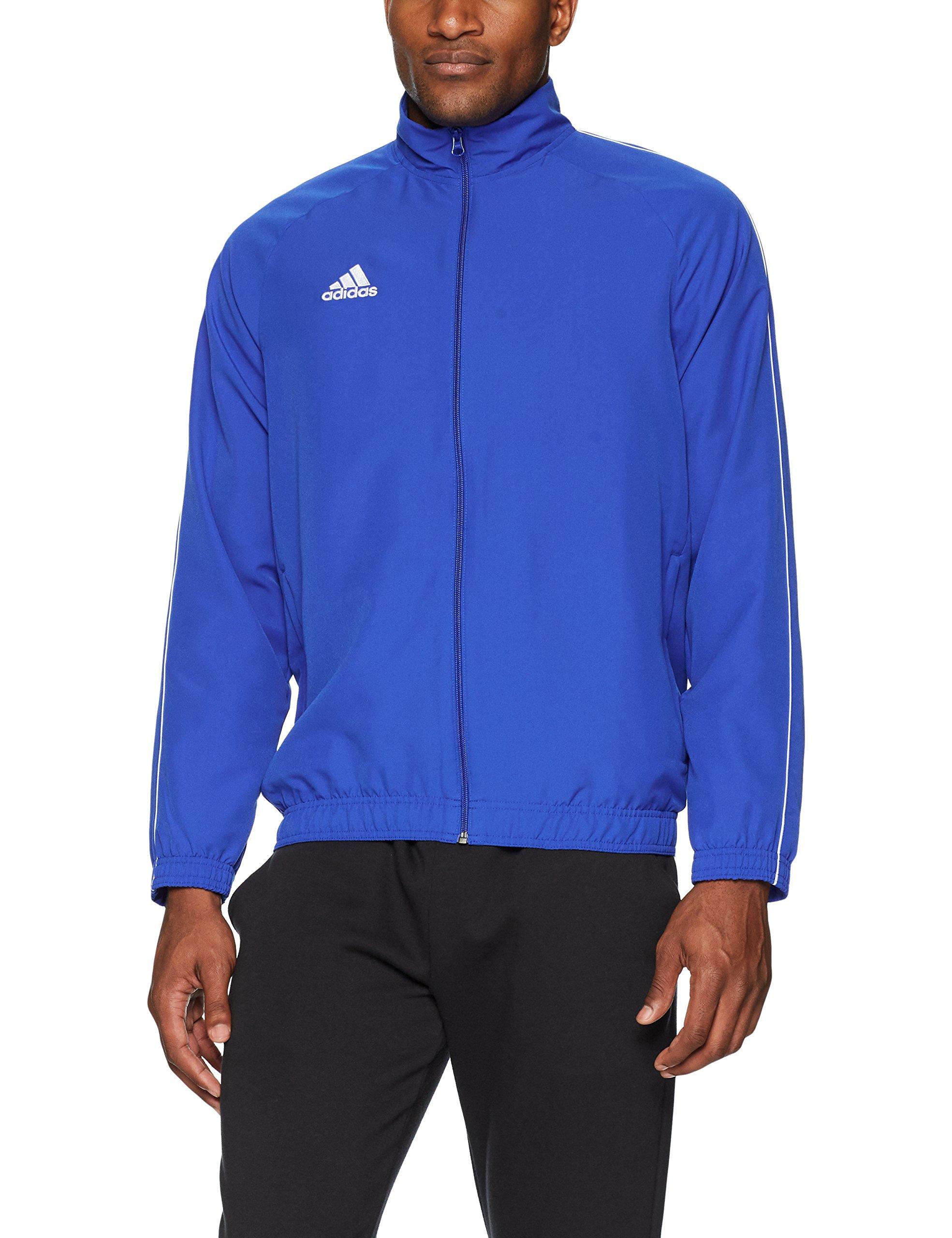 adidas Core18 Presentation Jacket, Bold Blue/White, Medium