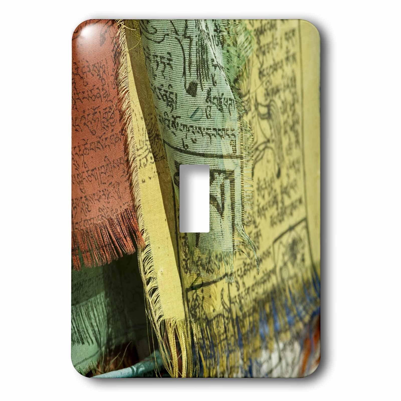 3dRose LLC 3dRose LLC lsp_132511_1 India, Ladakh, Leh, colorful Tibetan prayer flags - AS10 AAS0020 - Anthony Asael - Single Toggle Switch