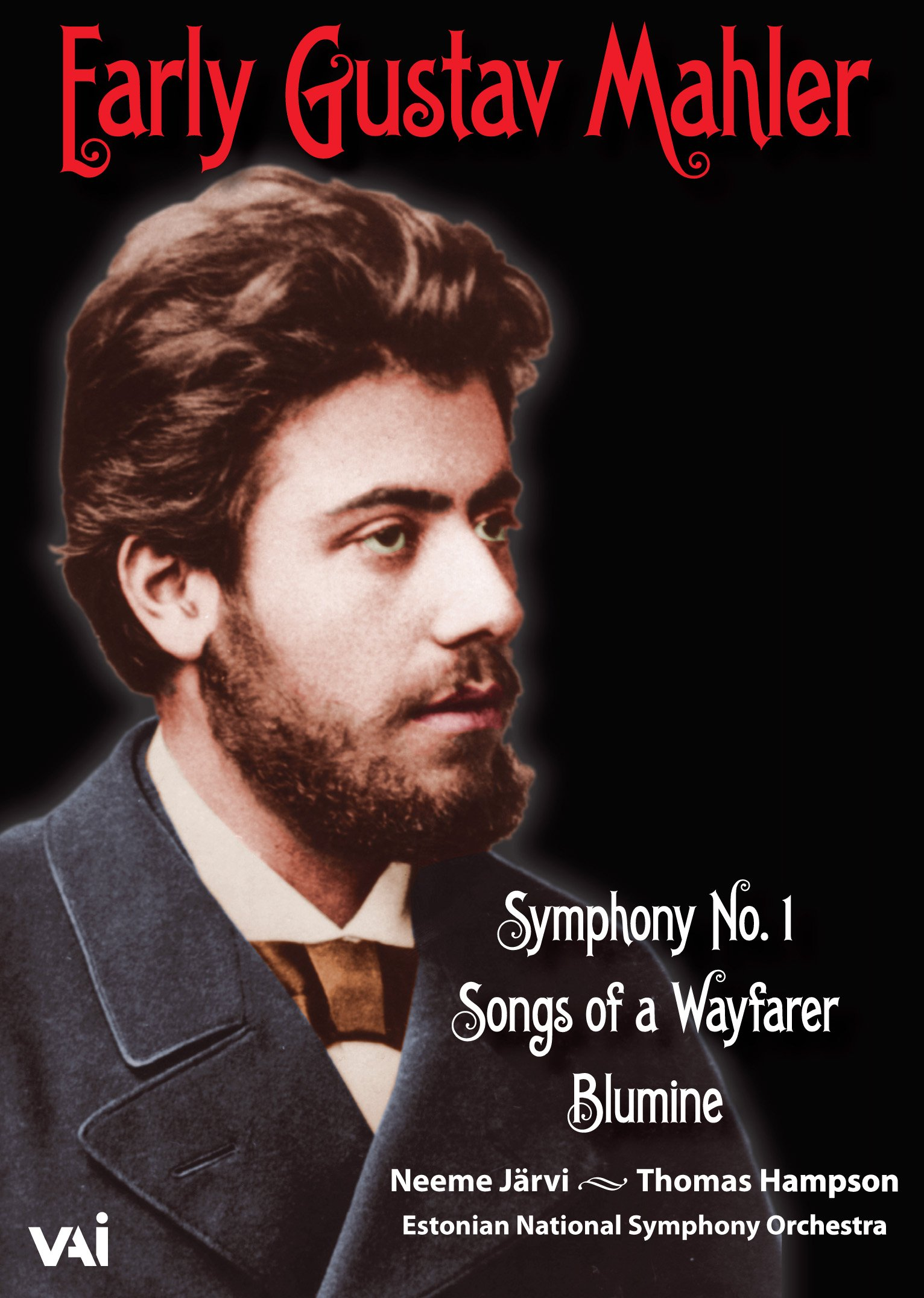 DVD : Thomas Hampson - Early Gustav Mahler : Symphony No.1 - Songs Of A Wafarer (Widescreen)