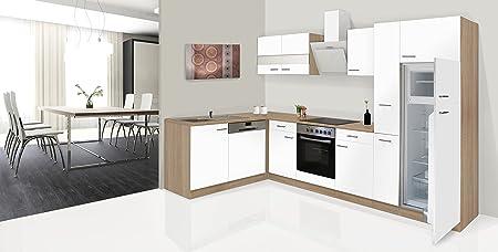 respekta Economy - Mueble para Cocina en ángulo en L Roble ...
