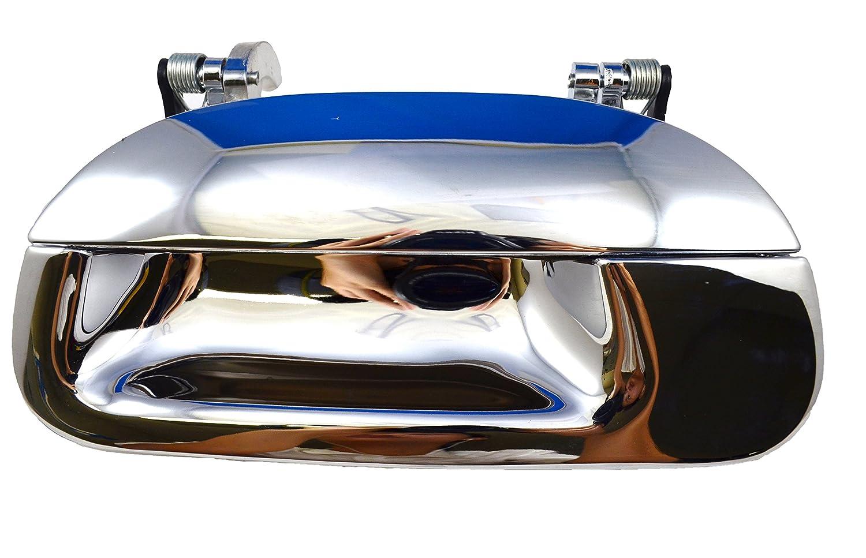 Tailgate Handle without Keyhole PT Auto Warehouse FO-3503M-T2 Chrome