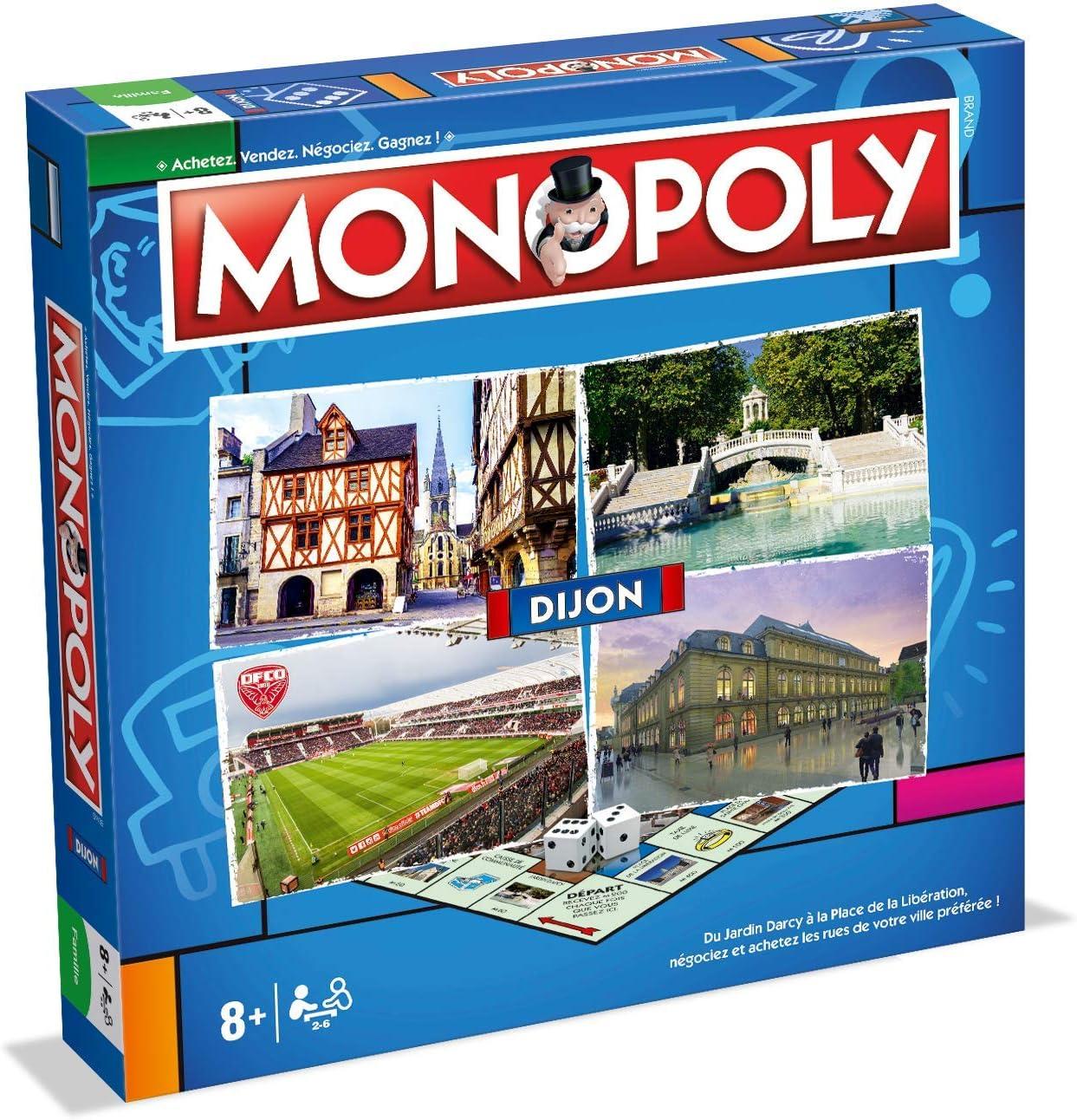 Winning Moves- Monopoly Dijon, 0277, versión Francesa: Amazon.es: Juguetes y juegos