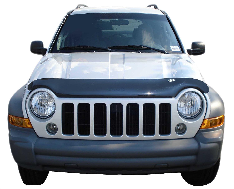 Auto Ventshade 24726 Bugflector II Dark Smoke Hood Shield for 2002-2007 Jeep Liberty