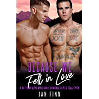 Because We Fell in Love: A Baytown Boys Male/Male Romance Series Collection (English Edition)