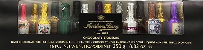 Anthon Berg Chocolate Liqueurs 250g