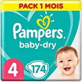 Pampers 帮宝适 Baby Dry 尿布,纸尿裤 Windeln Gr. 4 174