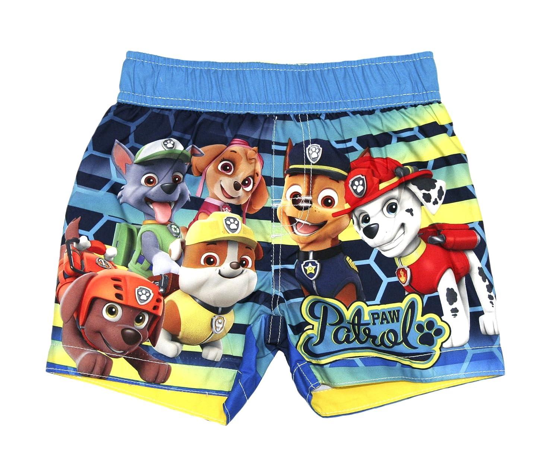 Nickelodeon Toddler Boys' Paw Patrol Swim Trunk (2T, Yellow Stripe)
