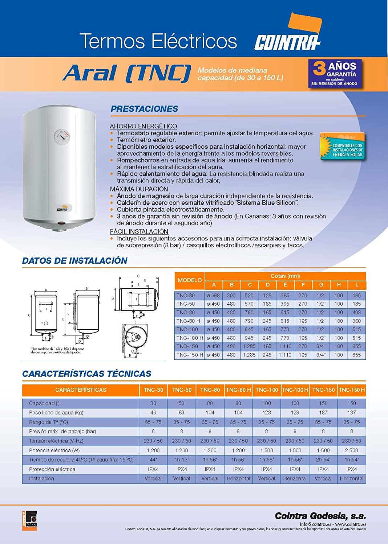 Termo Electrico COINTRA TNC-150 H