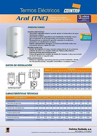 Cointra Tnc 30 Durchlauferhitzer Und Boiler Tank Wasserspeicher