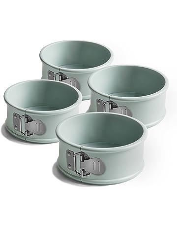 Jamie Oliver Gama jb1030 Bakeware Antiadherente Mini Molde para Tartas – Acero al Carbono, Puerto