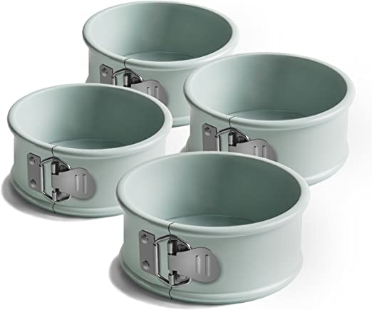 Set of 5 Stainless Steel//Harbour Blue Jamie Oliver Bakeware Range Round Cookie Cutters 5//6//7//8.5//9.5 cm