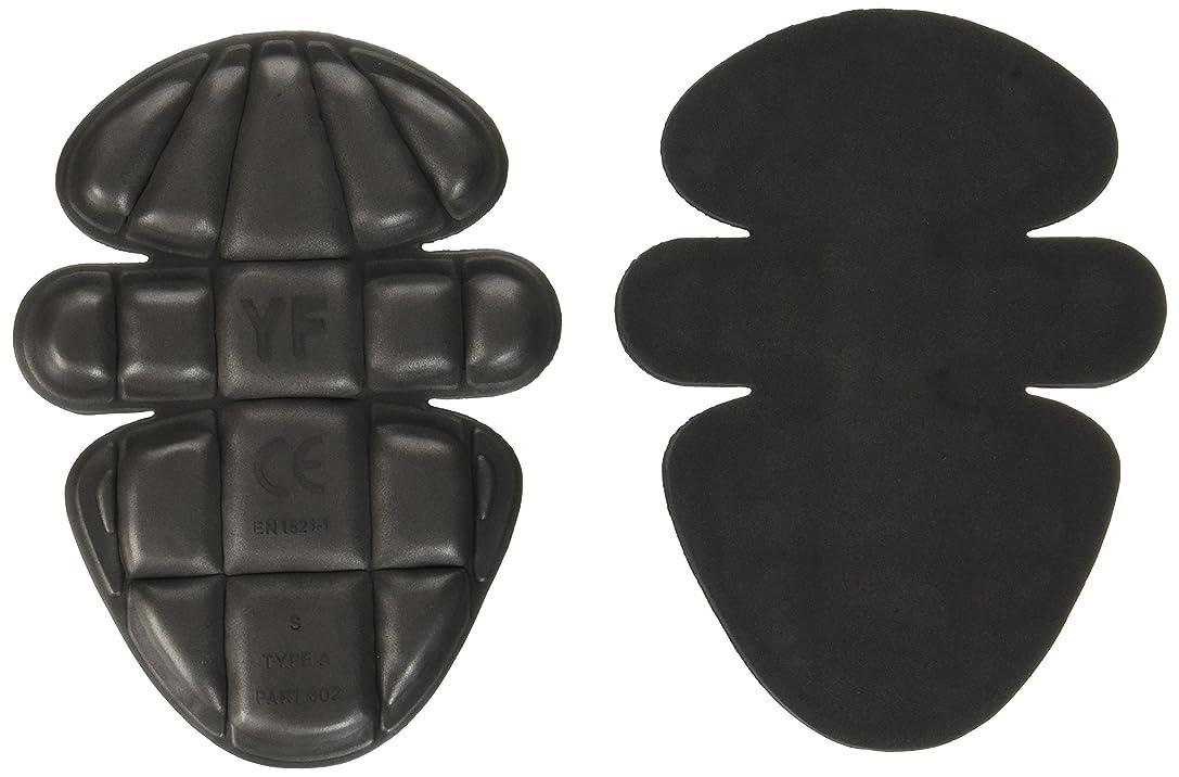 書き込みアトム刈り取るKUSHITANI(クシタニ) ベンチレーションソフトパッド 肩肘 ブラック フリー K-4360