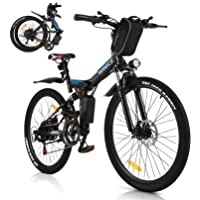 Vivi Bicicleta Eléctrica Plegable, 350 W Motor para Bicicleta De Montaña Eléctrica para…