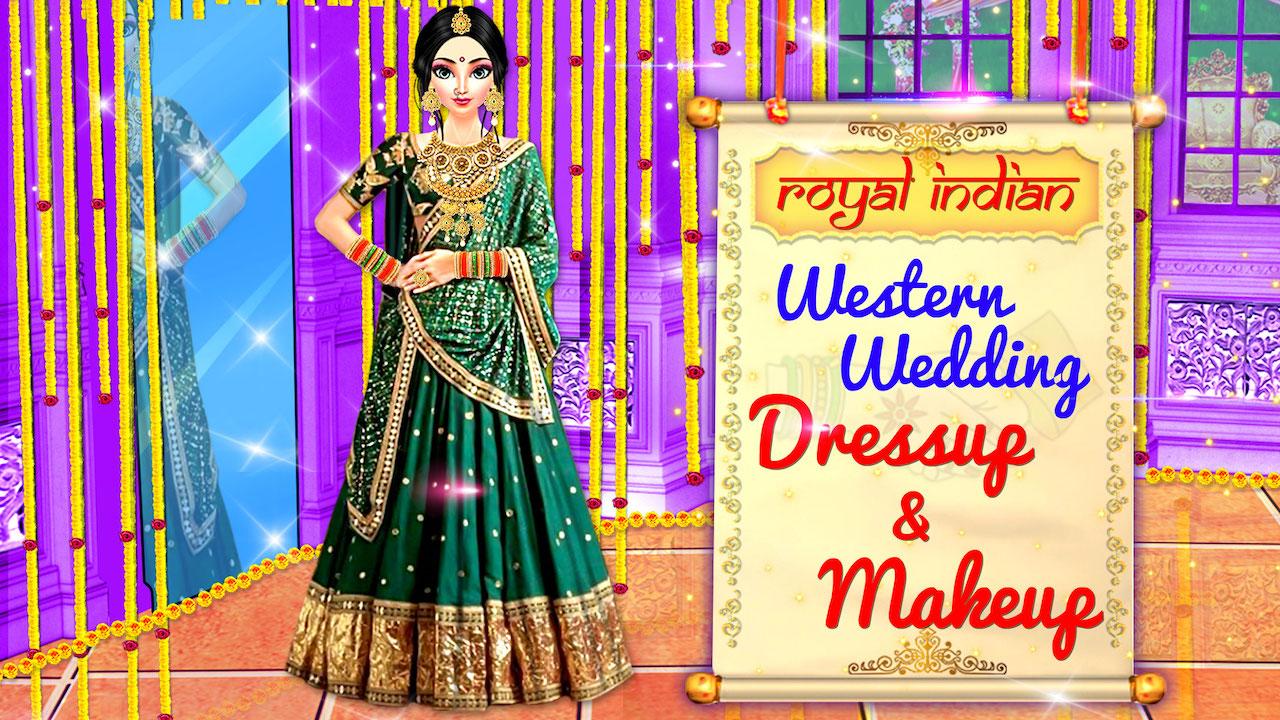Royal Indian Western Makeup & Dressup Wedding Games-Dream ...