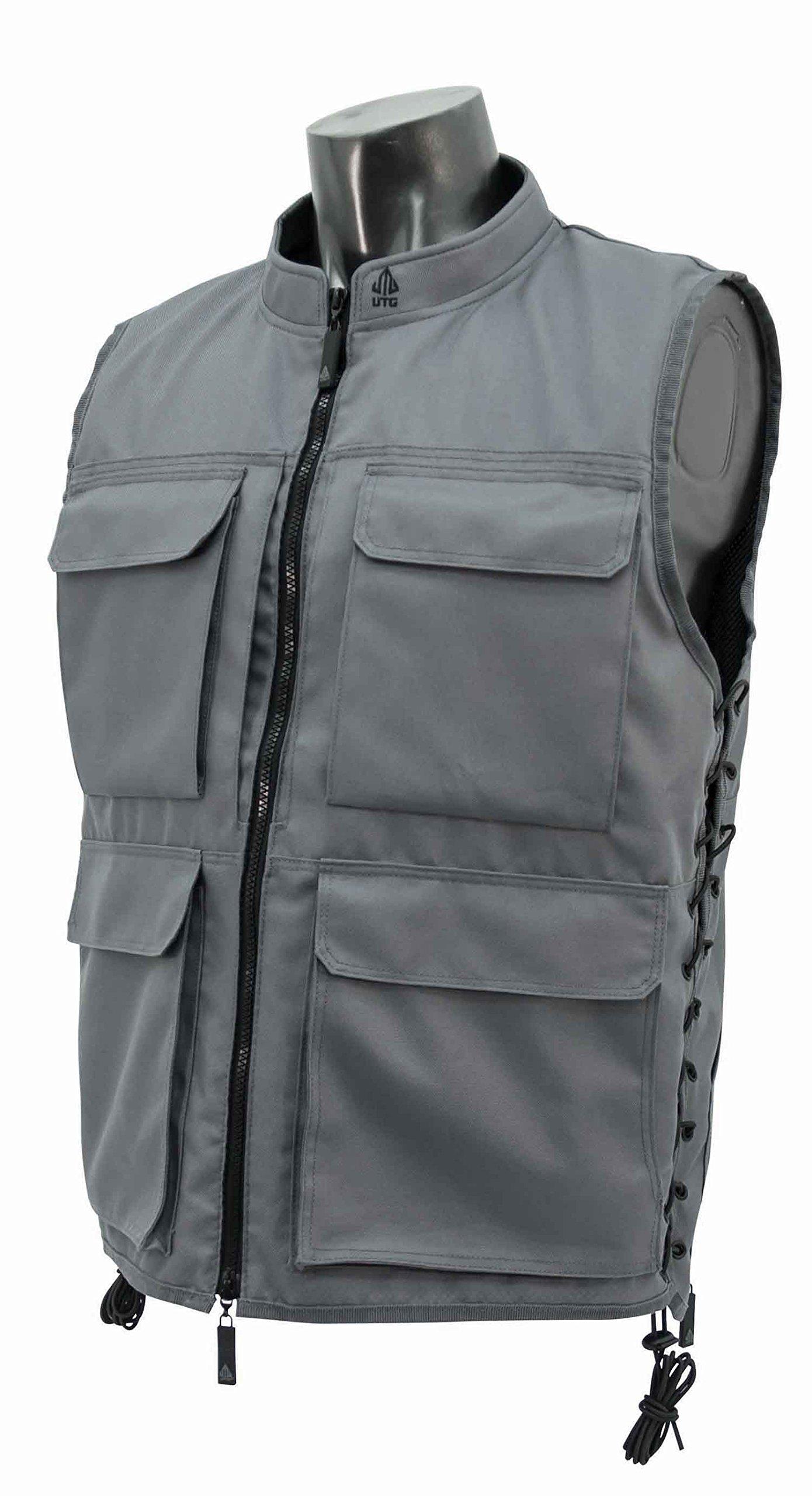UTG True Hunter Male Sporting Vest (M to XL), Gray/Black by UTG