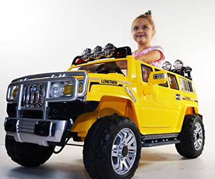 Amazon Com Ride On Car Hummer Style Electric Vehicle Battery