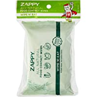 Zappy All Natural Food Contact Wipes Value Pack, 30 count (Pack of 2)
