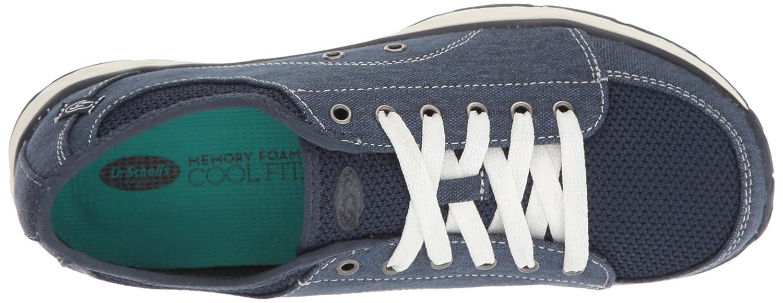 Dr. Scholl's Women's Anna Fashion Sneaker B01KGAUX3W 6.5 B(M) US|Navy Canvas